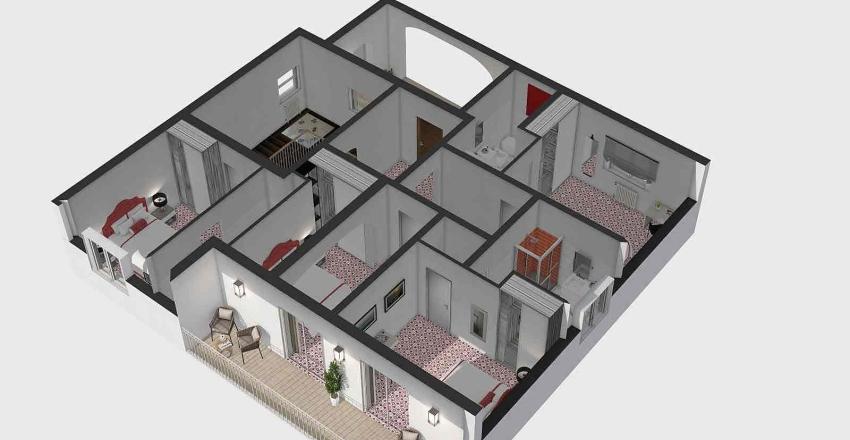 ISCHIA 2 okok arredi Interior Design Render