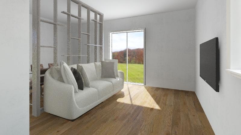 Casa Barga Interior Design Render