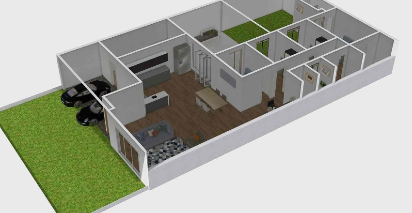 Casa Nova V7 Interior Design Render