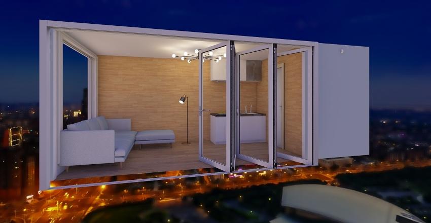 крым Interior Design Render