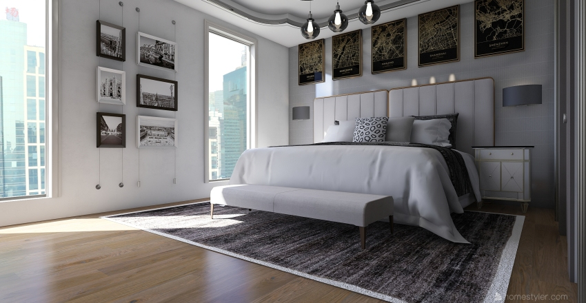 Jo Estate Interior Design Render
