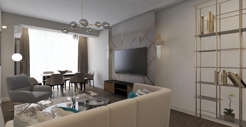 Роза 3 Interior Design Render