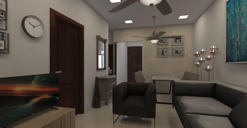 Confident Crown Interior Design Render