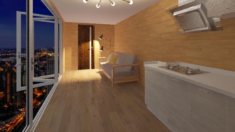 Крым2 Interior Design Render