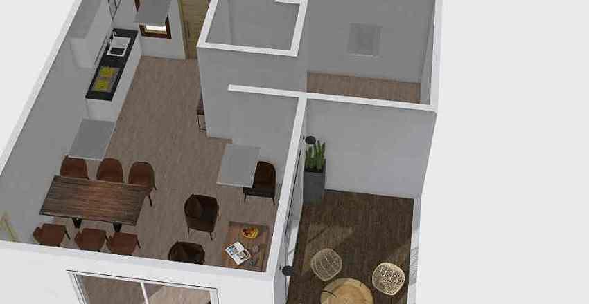 modular Interior Design Render