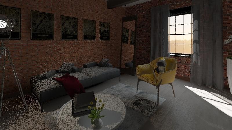 РР Interior Design Render