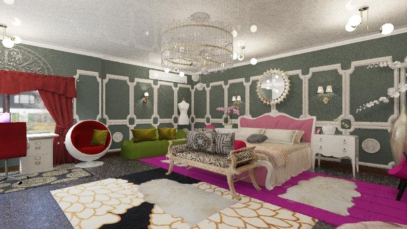 Vika-Aisxaana Interior Design Render