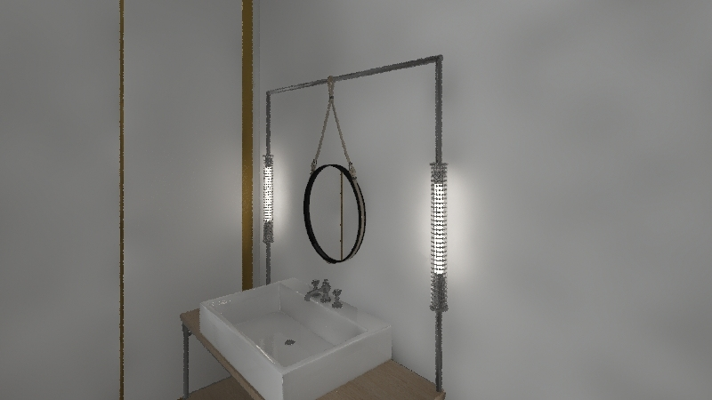 MONOLOCALE BRONZETTI 16 Interior Design Render