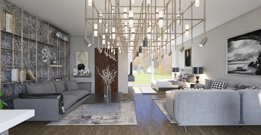 Maison Interior Design Render