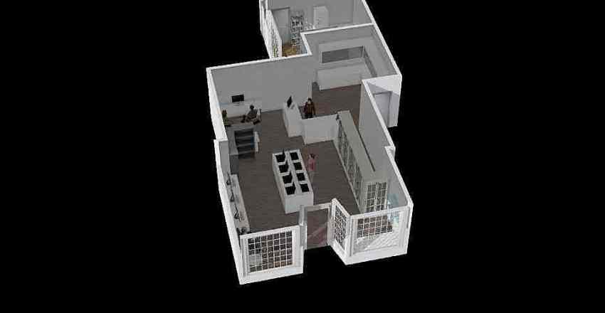16 Burgate Interior Design Render