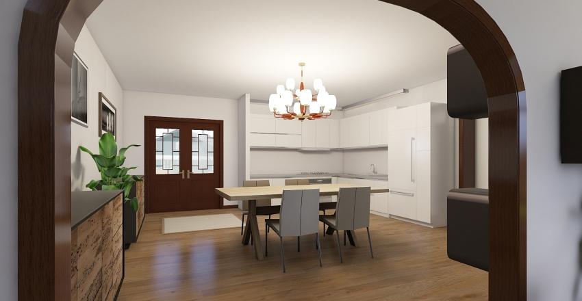 casa colonica piano terra Interior Design Render