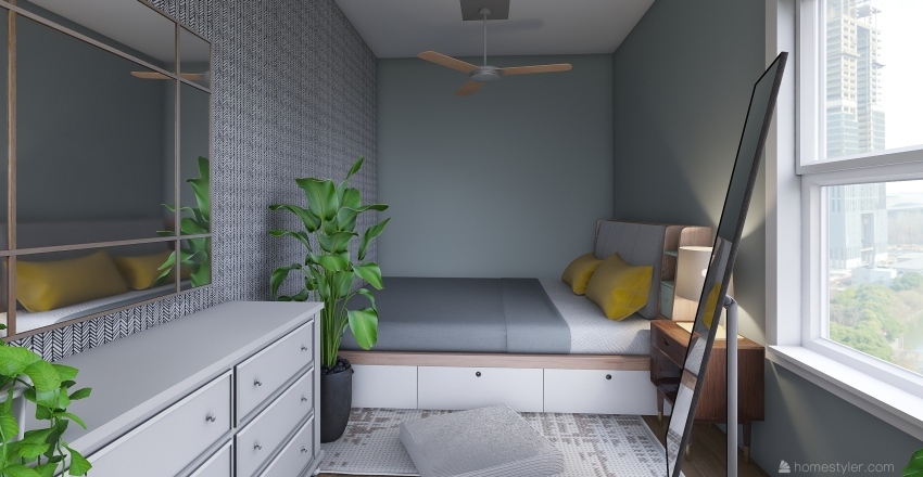 ONE OF MY DESIGNS Interior Design Render