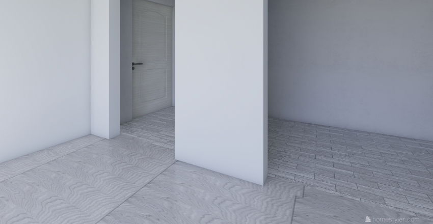 Flat 3 Interior Design Render