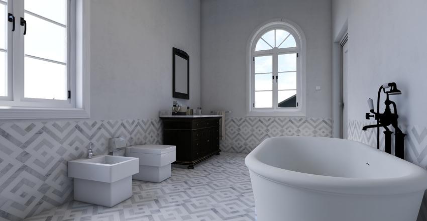 roomy flat Interior Design Render