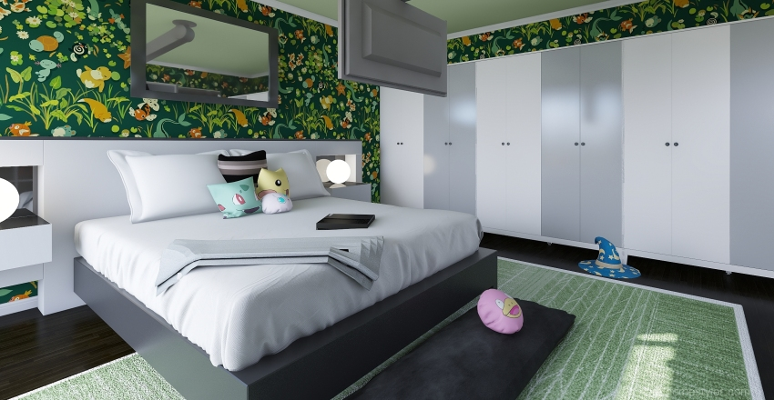 Nigel's room Interior Design Render