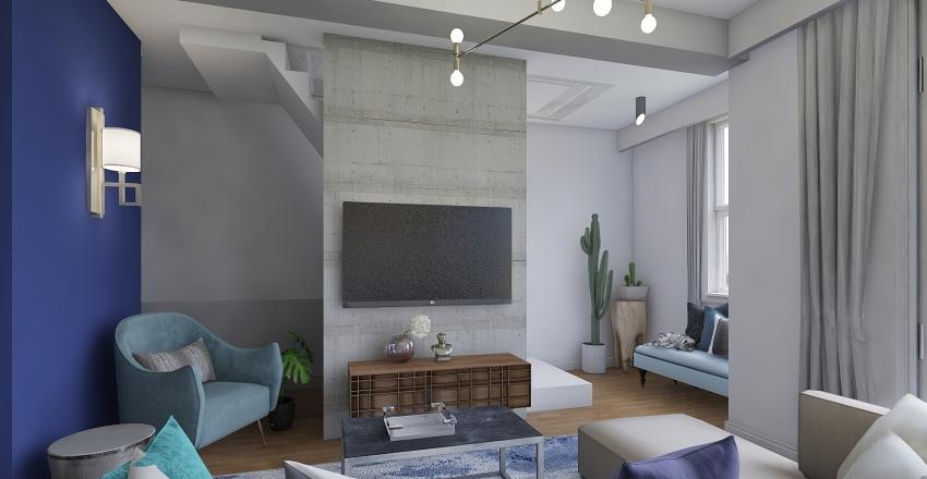 chylinskiego_z_drewnem Interior Design Render