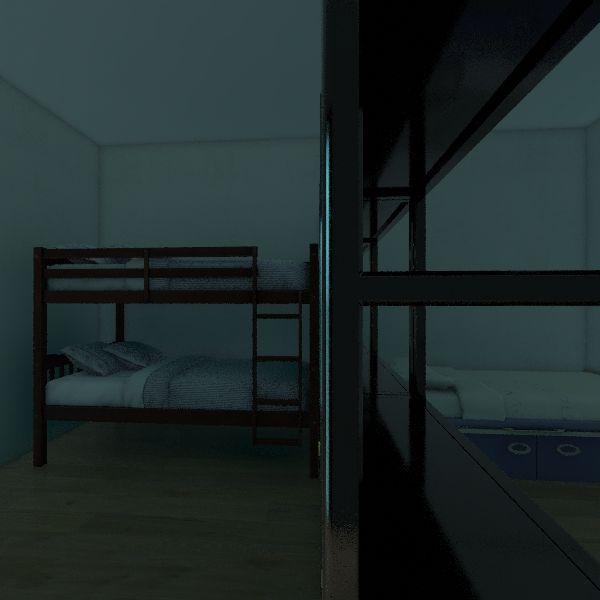 Pokój dzieci Interior Design Render