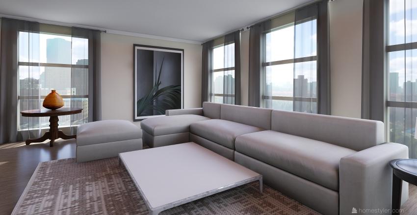 Beautiful Apartments Interior Design Render