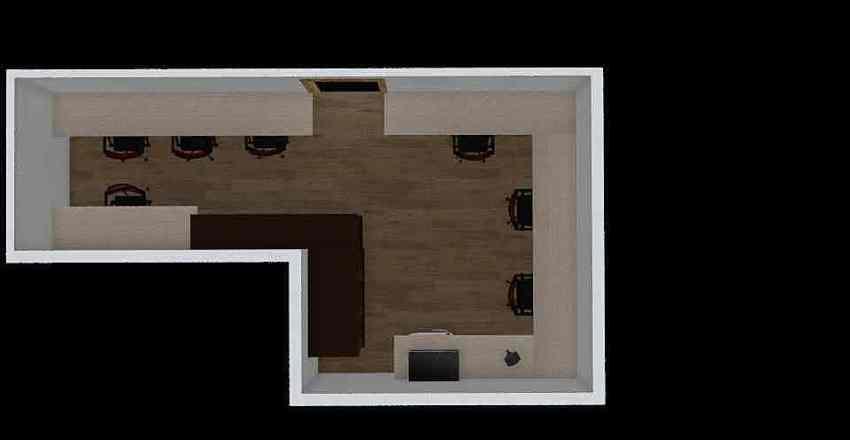 Club Interior Design Render