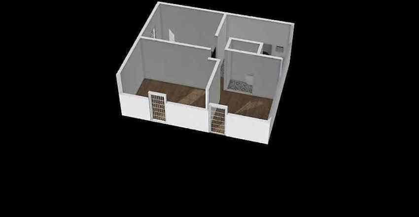 Ameangement salle de bain Interior Design Render