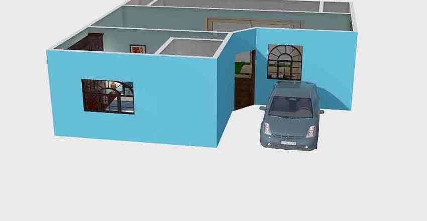 HOUSE 9X9 Interior Design Render