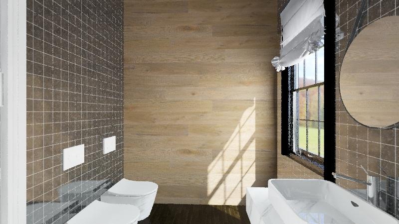 mattia bagno Interior Design Render