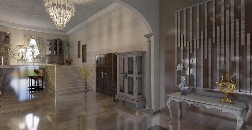 Chalet clasico en Marbella Interior Design Render