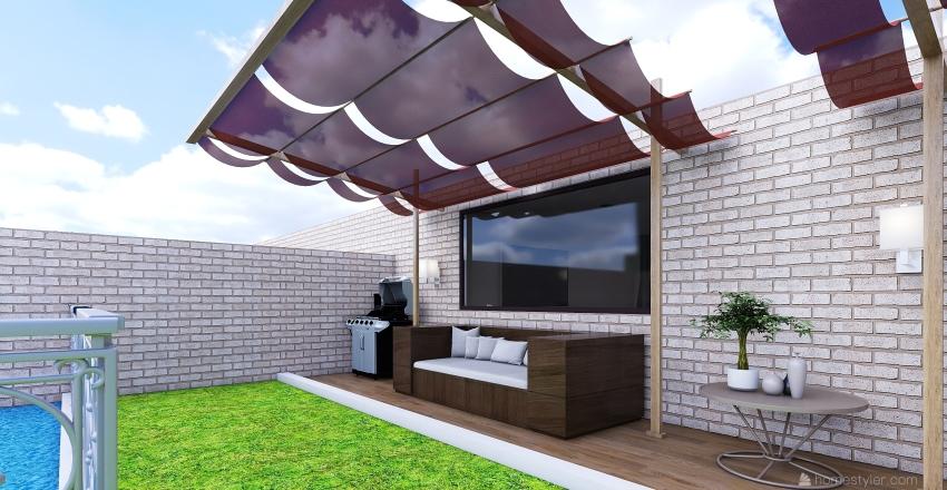 House no 1 Interior Design Render