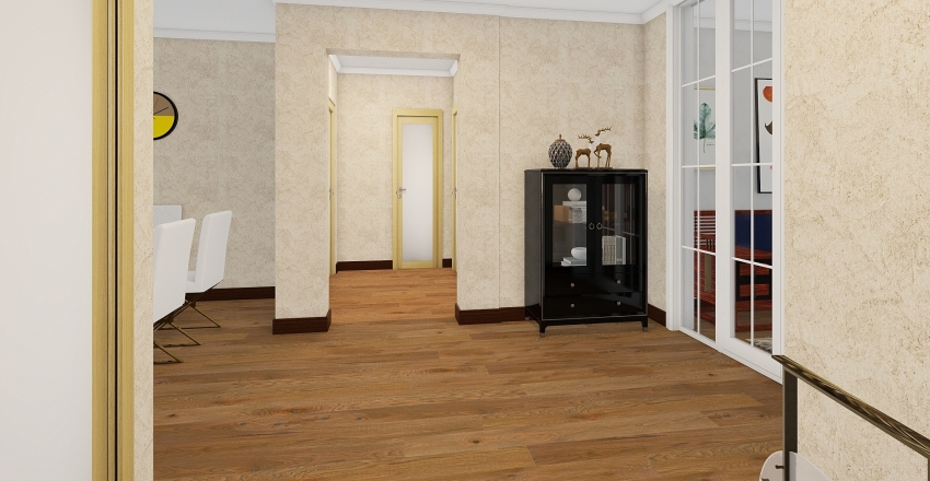 Template2porodican-dom Interior Design Render