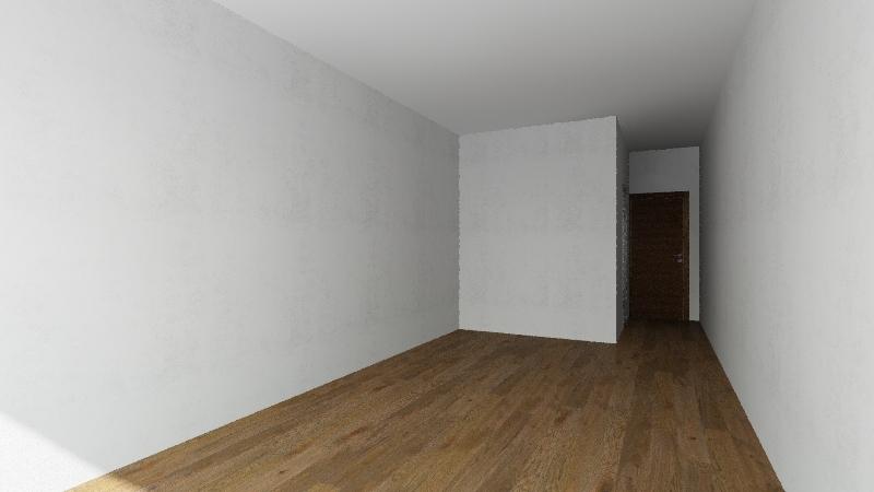 UNIDAD MONOAMBIENTE Interior Design Render
