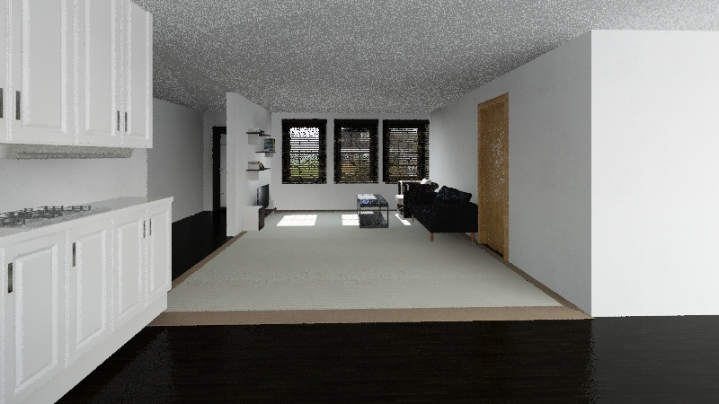 Mother-in-Law suite Interior Design Render