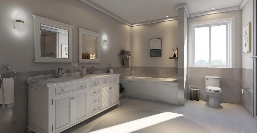 μοντερνα κατοικια. Interior Design Render
