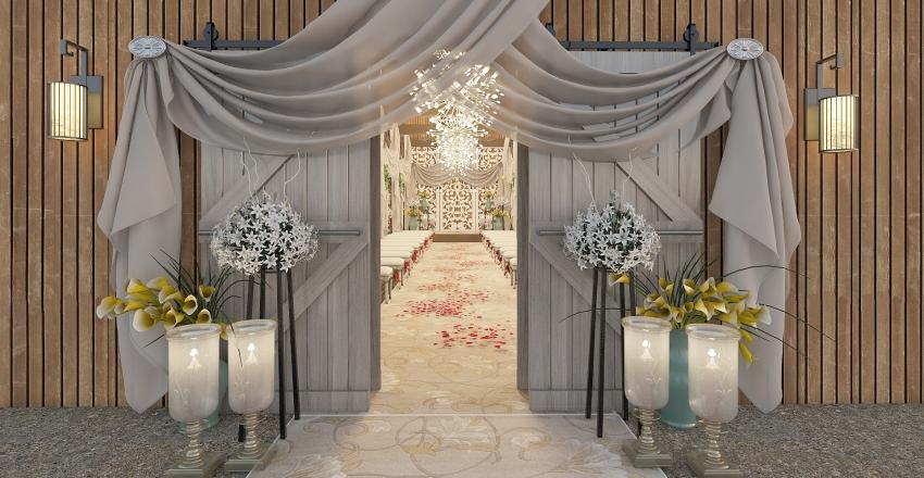 Barnwedding Interior Design Render