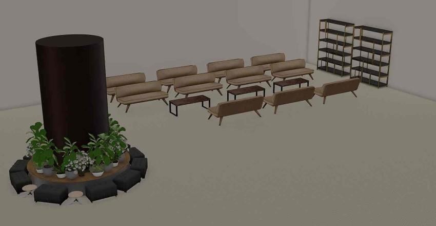 waiting area Interior Design Render