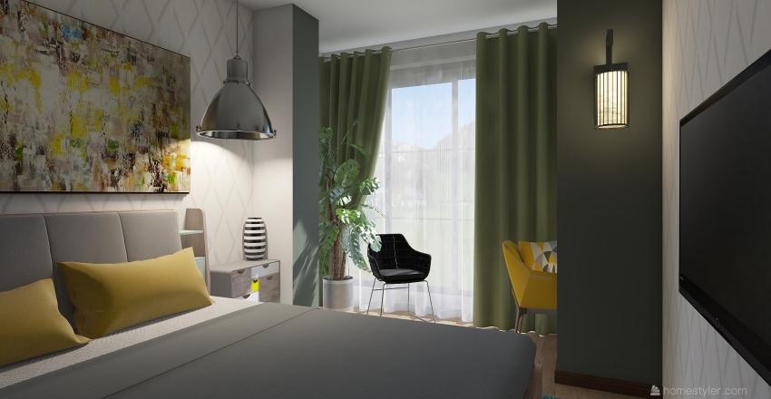План квартиры №1 (1) Interior Design Render