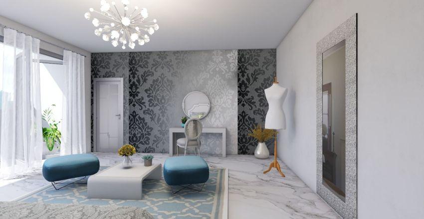 Afraa 2 Story Home Interior Design Render