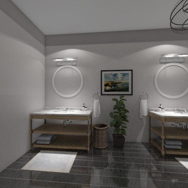 Bathroom #1 Interior Design Render
