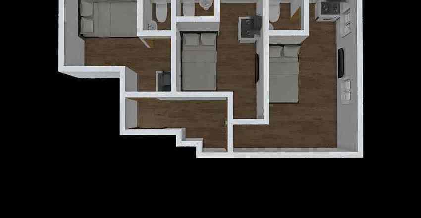 利都樓 5 Interior Design Render
