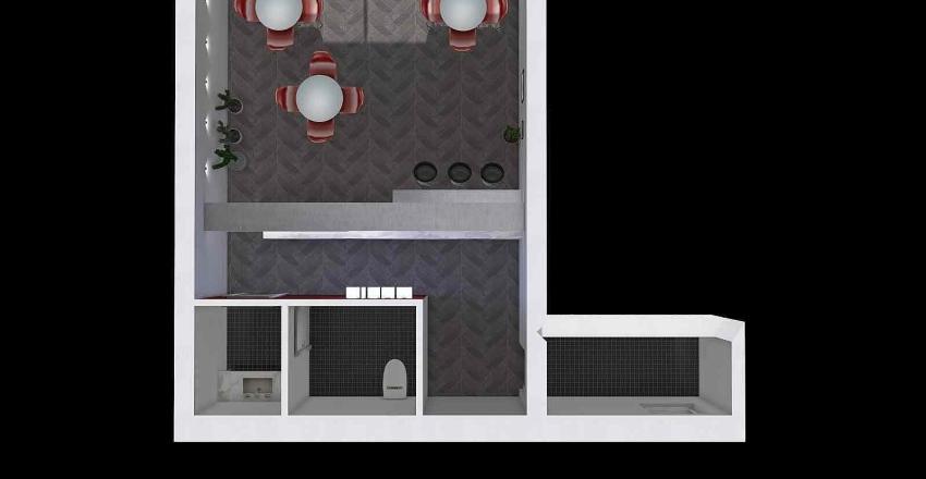 via dei bastioni progetto Interior Design Render