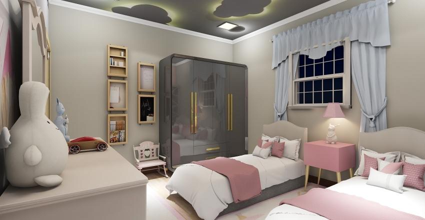 ahmed flat Interior Design Render