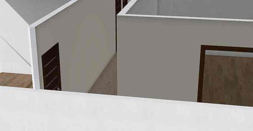2 Bedroom Flat Interior Design Render