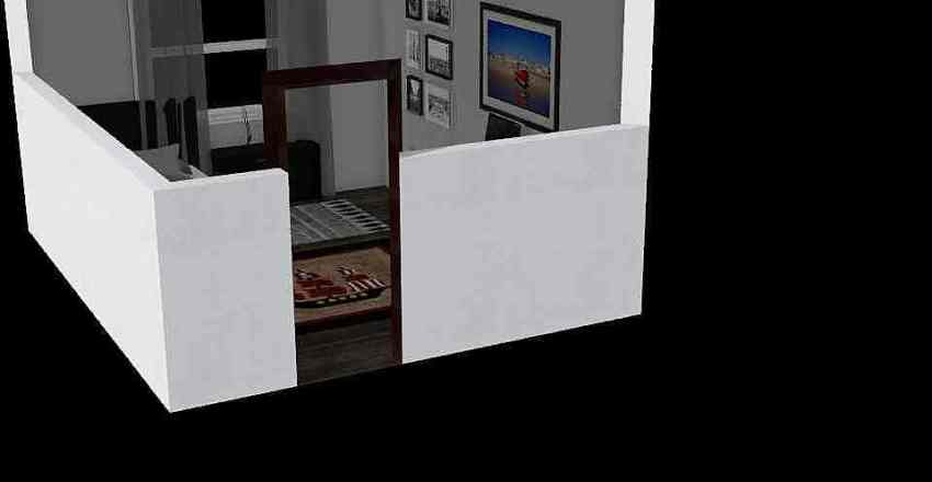 Boys Bedroom Interior Design Render
