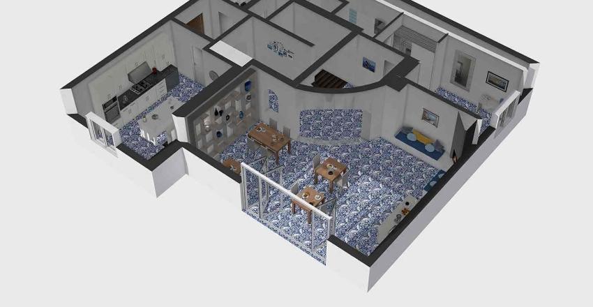 ischia piano inferiore1 Interior Design Render