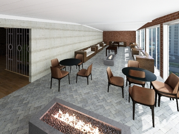 bar repentina Interior Design Render