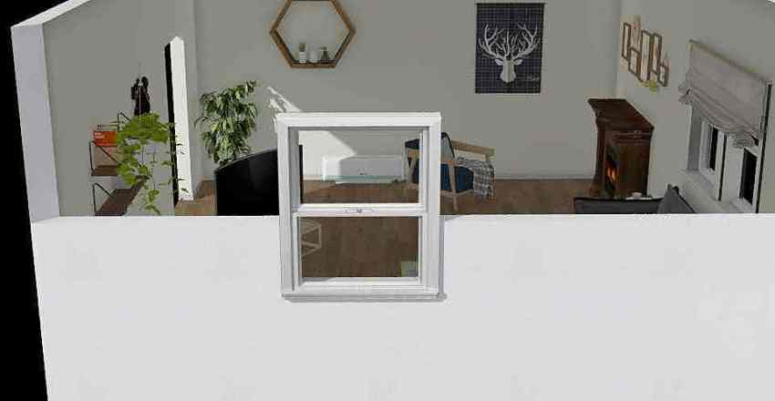Homey Home Interior Design Render