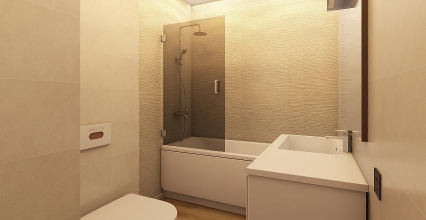 Санузел Interior Design Render