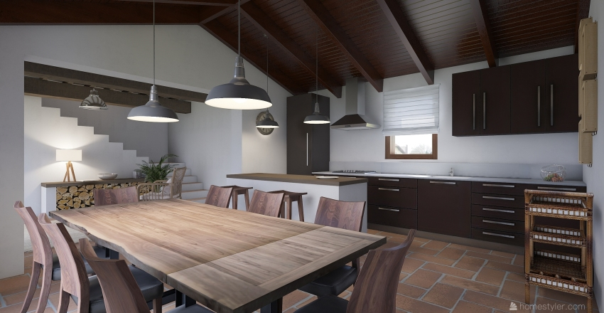 05_VILLA Interior Design Render