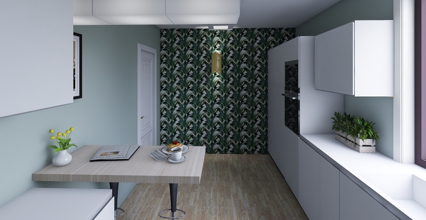 Olo kuchnia Interior Design Render