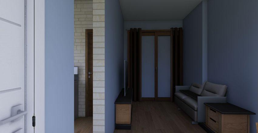Casa em construção Interior Design Render