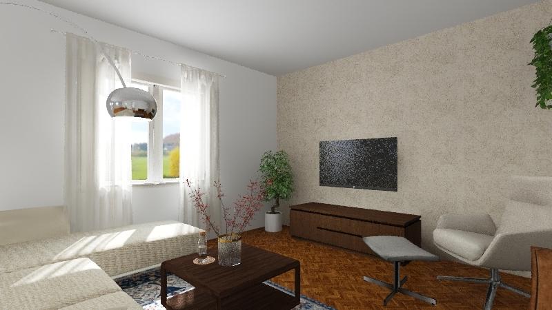 Obývák2 Interior Design Render